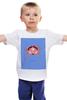 """Детская футболка классическая унисекс """"Знаки зодиака. Рак."""" - рак, знак зодиака"""