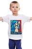 """Детская футболка классическая унисекс """"DubStep"""" - dj, pony, mlp, dubstep, fim, scratch, vinyl, pon-3"""