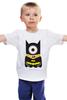 """Детская футболка классическая унисекс """"Миньон """" - batman, мульт, миньон, гадкий я, minion"""