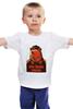 """Детская футболка """"Comrade"""" - bear, медведь, погоны, товарищ"""