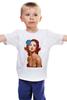 """Детская футболка классическая унисекс """"Blue Rose"""" - роза, smoking, сигарета, виверос, брайан виверос"""
