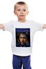 "Детская футболка ""Путин vs Обама"" - америка, россия, обама, путин, президент"
