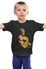 """Детская футболка классическая унисекс """"Scorpion"""" - бодибилдинг, скорпион, mortal kombat, scorpion, body building"""