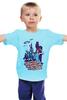 """Детская футболка """"Космические захватчики (зомби, вампиры, роботы)"""" - zombie, space, апокалипсис, vampire, robots"""