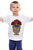 """Детская футболка классическая унисекс """"М. Байсон (Уличный Боец)"""" - файтинг, уличный боец, street fighter, м байсон"""