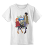 """Детская футболка классическая унисекс """"К востоку от рая / Eden of The East"""" - аниме, к востоку от рая, саки морими, акира такидзава, eden of the east"""