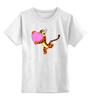 """Детская футболка классическая унисекс """"Тигра"""" - тигра"""