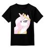 """Детская футболка классическая унисекс """"Princess Molestia"""" - арт, pony, mlp, пони, molestia"""