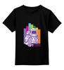 """Детская футболка классическая унисекс """"Пляшем!"""" - space, космос, dance, astronaut, bright"""