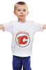 "Детская футболка классическая унисекс ""Calgary Flames,"" - хоккей, nhl, нхл, калгари флеймз, calgary flames"