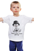 """Детская футболка классическая унисекс """"Уинстон Черчилль """" - никогда не сдавайся, winston churchill, уинстон черчилль"""