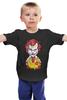 """Детская футболка классическая унисекс """"Джокер МакДональд"""" - joker, джокер, бэтмен, клоун, mcdonalds"""