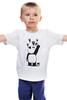 """Детская футболка классическая унисекс """"Панда вандал"""" - животные, панда, panda, wwf, вандал"""