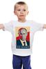 """Детская футболка классическая унисекс """"Go Hard Like Vladimir Putin"""" - путин, президент, putin, go hard"""