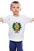 """Детская футболка классическая унисекс """"My Little Pony - герб AppleJack (ЭпплДжек)"""" - mlp, my little pony, пони, герб, эпплджек"""