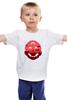 """Детская футболка классическая унисекс """"Марио (Mario)"""" - mario, марио, супербратья марио"""