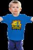 "Детская футболка классическая унисекс ""BANANANANANANA MINIONS"" - batman, мульт, бэтмен, banana, миньоны, гадкий я, minions, банана"