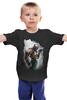 "Детская футболка ""Бейн и Бэтмен"" - batman, бэйн, bane, суперзлодей"
