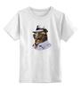 """Детская футболка классическая унисекс """"Animal_like_people_03"""" - bear"""