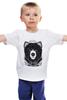 """Детская футболка классическая унисекс """"Медведь"""" - авторские майки, bear"""