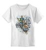 """Детская футболка классическая унисекс """"Calvin, The Spiffy Spaceman"""" - comics, комиксы, кэлвин, calvin"""