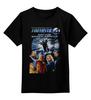 """Детская футболка классическая унисекс """"Fantastic 4 / Фантастическая Четверка"""" - кино, афиша, fantastic 4, kinoart, фантастическая четверка"""