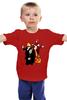 """Детская футболка """"Коммунистическая вечеринка"""" - ссср, ленин, вечеринка, сталин, серп и молот"""