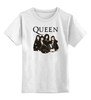 """Детская футболка классическая унисекс """"Queen group"""" - queen, фредди меркьюри, freddie mercury, куин, rock music"""