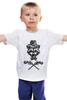 """Детская футболка классическая унисекс """"Енот ганстер"""" - енот, racoon, ганстер"""