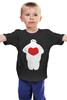 """Детская футболка классическая унисекс """"Baymax (Город Героев)"""" - город героев, big hero 6, baymax"""