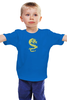 """Детская футболка классическая унисекс """"Дракон"""" - дракон, dragon, тату, тату дракон, dragon tattoo"""