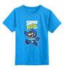"""Детская футболка классическая унисекс """"Super Mario (Mega Man)"""" - nintendo, марио, mario bros"""