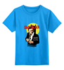 """Детская футболка классическая унисекс """"Человек в чёрном"""" - комиксы, batman, супергерои, бэтмен, летучая мышь"""
