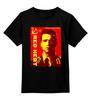 """Детская футболка классическая унисекс """"Arnold Schwarzenegger"""" - красная жара, арнольд шварценеггер, кино, терминатор, arnold schwarzenegger"""