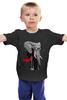 """Детская футболка """"Классный Слон"""" - африка, слон, слоник, elephant, африканский слон"""
