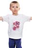 "Детская футболка ""Flowers"" - девушке"