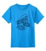 """Детская футболка классическая унисекс """"Поезд"""" - поезд, ржд"""