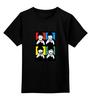"""Детская футболка классическая унисекс """"Beatles"""" - музыка, рисунок, the beatles, битлз, попарт"""
