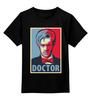 """Детская футболка классическая унисекс """"Доктор Кто (Doctor Who)"""" - doctor who, доктор кто"""