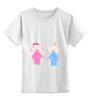 """Детская футболка классическая унисекс """"Дочка или Сыночек"""" - babies, son and daughter"""