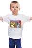 "Детская футболка ""Homer and Bender"" - гомер, футурама, бендер, симпсоны"