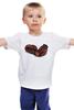 """Детская футболка классическая унисекс """"бокс№1"""" - old school, gloves, боксерские перчатки"""