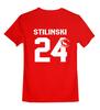 """Детская футболка классическая унисекс """"Stilinski 24"""" - волчонок, teen wolf, стайлз, stilinski 24"""