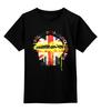 """Детская футболка классическая унисекс """"Шерлок"""" - флаг, sherlock, шерлок, uk"""