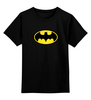 """Детская футболка классическая унисекс """"Футболка Batman"""" - бэтмен"""