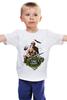 """Детская футболка """"Рэмбо отдыхает"""" - путин, putin, president, рэмбо, вежливыелюди"""