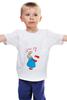 "Детская футболка ""Rabbit_woman"" - fun, nice"