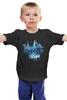 """Детская футболка классическая унисекс """"Dota 2 Ancient Apparation (with text)"""" - игры, dota 2, дота"""