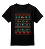 """Детская футболка классическая унисекс """"Пиксельный узор"""" - игры, 8 bit, пиксели, 8 бит, денди"""