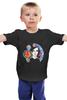 """Детская футболка """"Потеряный"""" - мозаика, иллюстрация, яркий принт, потеряный"""
